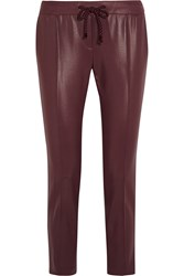 Christopher Kane Coated Jersey Tapered Pants