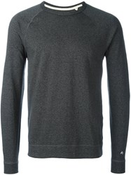 Rag And Bone 'Raglan' Sweatshirt Grey