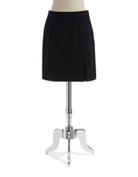 Laundry By Shelli Segal Pleated Pencil Skirt Dark Moonlight