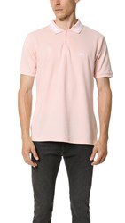Stussy Spiral Collar Polo Pink