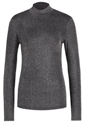 Y.A.S Yas Yaslisa Long Sleeved Top Periscope Dark Grey