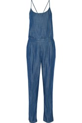 Tart Collections Sable Chambray Jumpsuit Blue