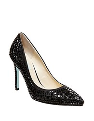 Betsey Johnson Ariel Embellished Pumps Black
