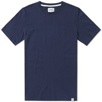 Norse Projects Niels Boucle Tee Blue