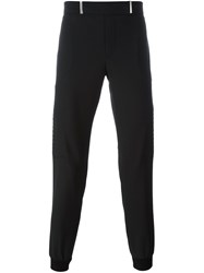 Les Hommes Cuffed Trousers Black