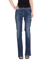 Tru Trussardi Denim Denim Trousers Women Blue