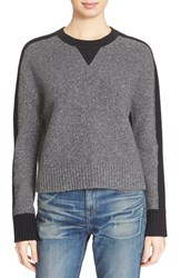 Rag And Bone Women's Rag And Bone Jean 'Nina' Wool Blend Crewneck Sweater