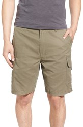 Men's Quiksilver Waterman Collection 'Maldive 9 Inch' Cargo Shorts Army