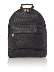 Mi Pac Perforated Backpack Black