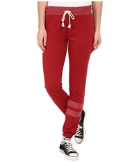 Billabong Kick Back Pants Chilli Pepper Women's Casual Pants Red