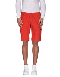 Hamaki Ho Trousers Bermuda Shorts Men Red