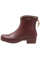 Aigle Miss Juliette Wellies Erable Taupe Grey