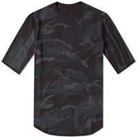 Mhi Maharishi Reversible Camo Pocket Tee Black