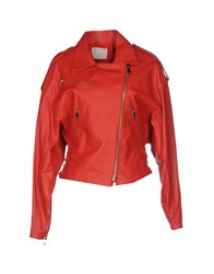 Amen. Coats And Jackets Jackets Women Red