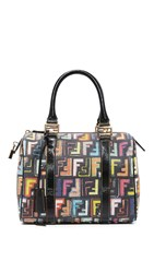 Wgaca Fendi Forever Boston Bag Previously Owned Multi