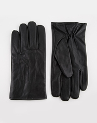 Totes Leather Gloves With Smart Touch Black
