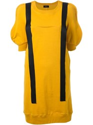 Undercover Hanging Straps Shift Dress Yellow And Orange