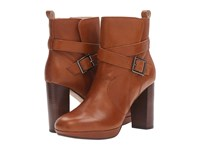 Clarks Gabriel Mix Tan Leather Women's Pull On Boots