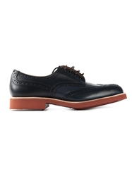 Trickers 'Bourton' Brogues Blue