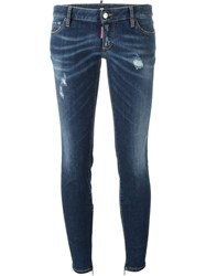 Dsquared2 'Twiggy' Jeans Blue