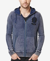 Buffalo David Bitton Men's Walsined Full Zip Hoodie Agate
