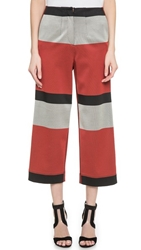 Cedric Charlier Wide Striped Pants Multi