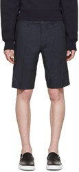 Diesel Navy Cotton Pitt Shorts