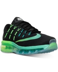 Nike Women's Air Max 2016 Running Sneakers From Finish Line Black Multi Color Midnigh