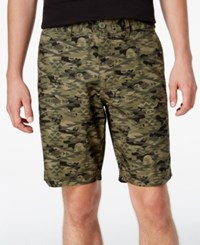 American Rag Men's Southwest Camo Print Shorts Only At Macy's Dusty Olive