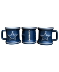 Boelter Brands Dallas Cowboys 2 Oz. Mini Mug Shot Glass Team Color