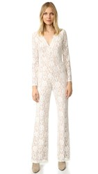 Ella Moss Trello Lace Jumpsuit Natural