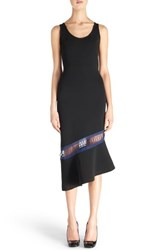 Christopher Kane Women's Asymmetrical Hem Knit Midi Dress