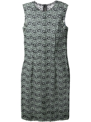 Comme Des Garcons Vintage Sleeveless Lace Dress Green