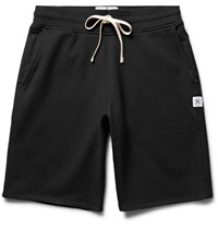 Reigning Champ Loopback Cotton Jersey Shorts Black