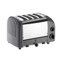Dualit Classic Toaster Cobble Grey 4 Slot