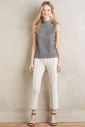 Cartonnier Striped Charlie Trousers Neutral Motif