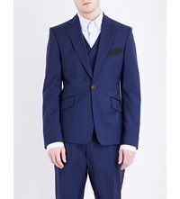 Vivienne Westwood Slim Fit Wool Jacket Navy