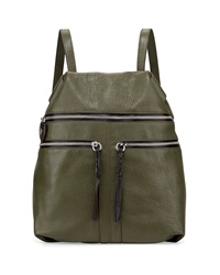 Oryany Chloe Leather Backpack Forest