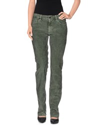 Ballantyne Trousers Casual Trousers Women Military Green