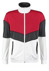 Your Turn Tracksuit Top Black White Red
