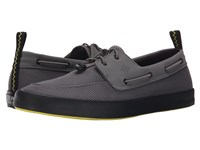 Sperry Flex Boat Grey Men's Lace Up Casual Shoes Gray