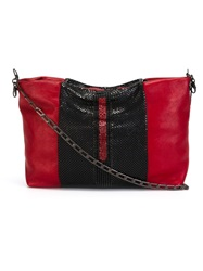 Laura B 'Vieen' Shoulder Bag Red