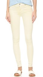 Hudson Nico Mid Rise Skinny Jeans Mellow Yellow
