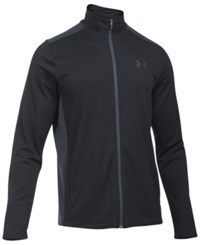 Under Armour Men's Maverick Mock Neck Jacket Black