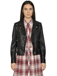 Diesel Smooth Leather Biker Jacket