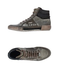 John Richmond High Tops And Trainers Military Green