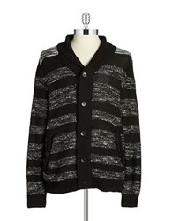 Calvin Klein Jeans Striped Knit Cardigan
