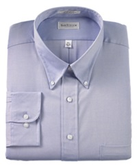 Van Heusen Big And Tall Easy Care Pinpoint Oxford Dress Shirt Light Blue