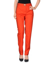 Salvatore Ferragamo Casual Pants Orange