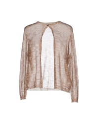 Agnona Knitwear Cardigans Women Brown